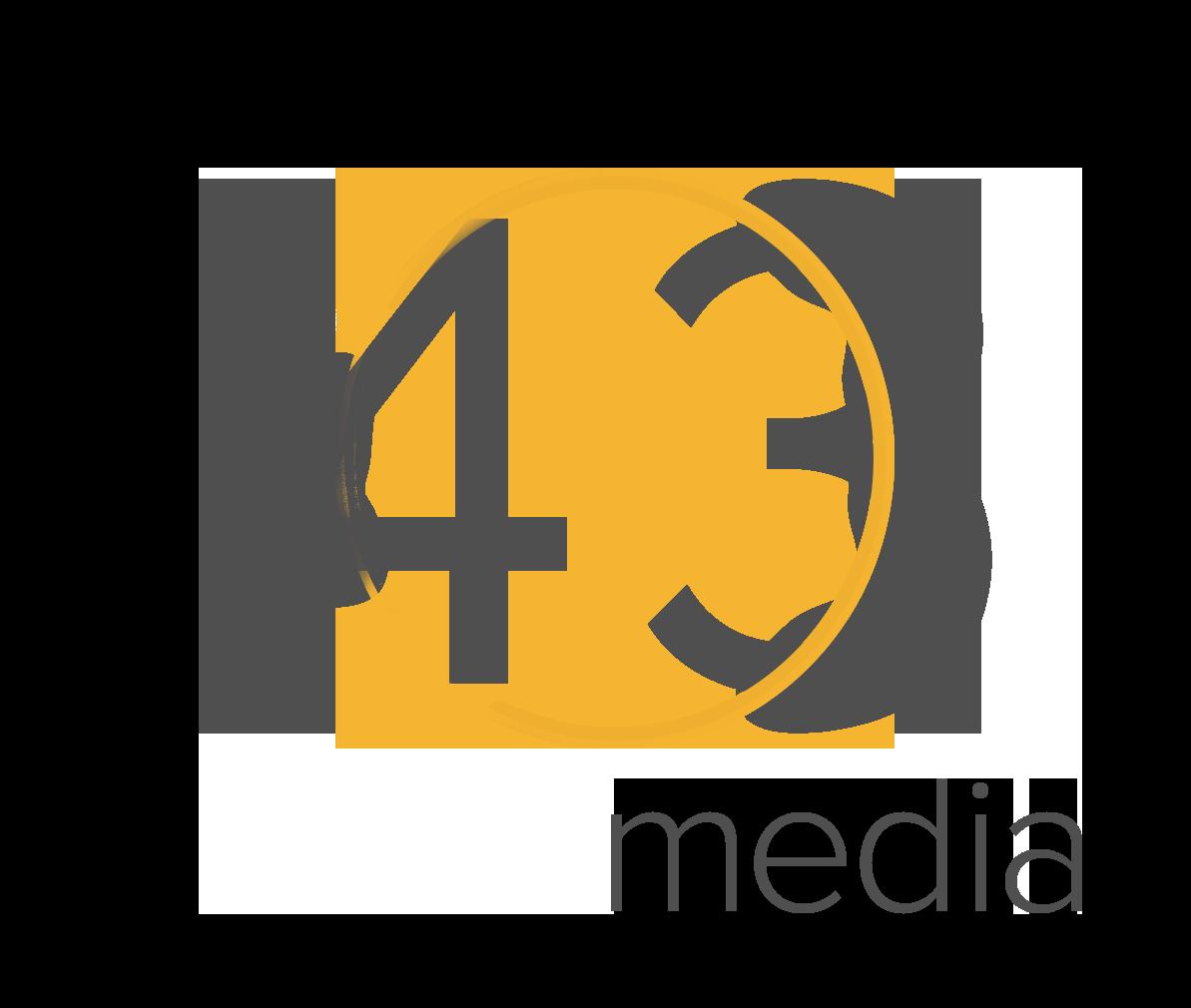 43 Media Logo